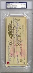 Mel Allen Autographed Check New York Yankees Near Mint 8 PSA/DNA #83016341