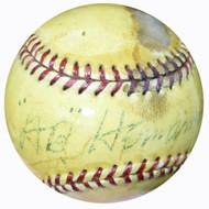 Al A.B. Hermann Autographed Official AL Harridge Baseball Boston Braves Vintage Beckett BAS #B26698