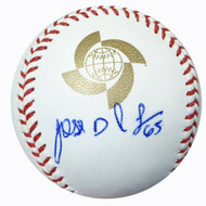 Jose De Leon Autographed Official 2013 WBC Baseball Los Angeles Dodgers Beckett BAS #B26663