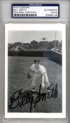 Billy G. Smith Autographed 3.5x5.5 Photo St. Louis Cardinals PSA/DNA #83964146