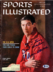 "Glenn Davis Autographed Sports Illustrated Magazine ""To Stan"" Beckett BAS #B61061"
