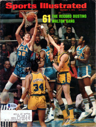 John Shumate & Bill Walton Autographed Sports Illustrated Magazine Beckett BAS #B63481
