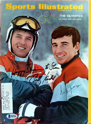 "Billy Kidd & Jimmy Huega Autographed Sports Illustrated Magazine ""To Stan"" Beckett BAS #B63848"