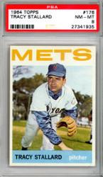 Tracy Stallard 1964 Topps Card #176 New York Mets Graded 8 PSA #27341935