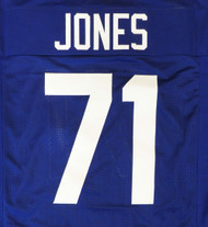 Seattle Seahawks Walter Jones Blue Jersey To Be Signed By Walter Jones