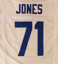 Seattle Seahawks Walter Jones White Jersey To Be Signed By Walter Jones