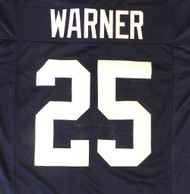 Penn State Curt Warner Jersey To Be Signed By Curt Warner