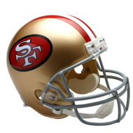 Unsigned San Francisco 49ers Throwback Full Size Helmet (1964-1995) To Be Signed By Jerry Rice
