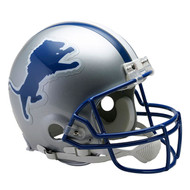 Unsigned Detroit Lions Throwback Authentic Proline Full Size Helmet To Be Signed By Barry Sanders