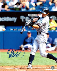 Ichiro Suzuki Autographed 8x10 Photo Seattle Mariners IS Holo Stock #20450