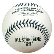 Unsigned Rawlings Official 2001 All-Star Baseball Seattle Mariners Safeco Field New Mint Stock #59075