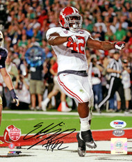 Eddie Lacy Autographed 8x10 Photo Alabama Crimson Tide PSA/DNA Stock #60765