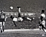 Pele Autographed 16x20 Photo CBD Brazil Bicycle Kick PSA/DNA Stock #68885