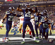 Richard Sherman Autographed 8x10 Photo Seattle Seahawks RS Holo Stock #71537