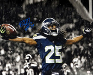Richard Sherman Autographed 16x20 Photo Seattle Seahawks RS Holo Stock #71539