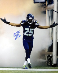 Richard Sherman Autographed 16x20 Photo Seattle Seahawks RS Holo Stock #71541