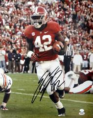 Eddie Lacy Autographed 16x20 Photo Alabama Crimson Tide PSA/DNA Stock #77727