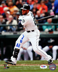 Robinson Cano Autographed 8x10 Photo Seattle Mariners PSA/DNA ITP Stock #78173