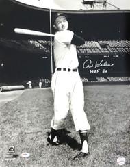 """Al Kaline Autographed 16x20 Photo Detroit Tigers """"HOF 80"""" PSA/DNA Stock #79714"""
