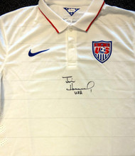 "Team USA Tim Howard Autographed White Nike Jersey ""USA"" Size XXL JSA Stock #81781"