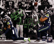 Richard Sherman & Malcolm Smith Autographed 8x10 Photo Seattle Seahawks RS Holo & MCS Holo Stock #85972