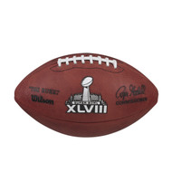 Unsigned Official SB XLVIII NFL Leather Football Stock #90896