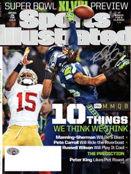 Richard Sherman Autographed Sports Illustrated Magazine Seattle Seahawks The Tip RS Holo Stock #93797