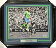 Clint Dempsey Autographed Framed 16x20 Photo Seattle Sounders PSA/DNA ITP Stock #94157