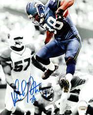 Mack Strong Autographed 8x10 Photo Seattle Seahawks MCS Holo Stock #97724