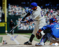Robinson Cano Autographed 16x20 Photo Seattle Mariners MCS Holo Stock #98187