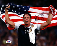 Abby Wambach Autographed 8x10 Photo Team USA PSA/DNA Stock #101377