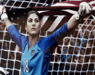 Hope Solo Autographed 16x20 Photo Team USA PSA/DNA Stock #104207