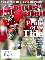 Mark Ingram Autographed Sports Illustrated Magazine Alabama Crimson Tide PSA/DNA ITP Stock #105146