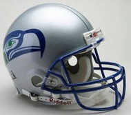 Unsigned Seattle Seahawks Authentic Proline Throwback (1983-2001) Full Size Helmet Stock #105706