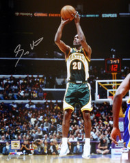 Gary Payton Autographed 16x20 Photo Seattle Sonics PSA/DNA Stock #105743