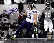 Jermaine Kearse Autographed 8x10 Photo Seattle Seahawks Super Bowl XLVIII MCS Holo Stock #106267