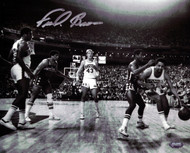 """Downtown"" Fred Brown Autographed 8x10 Photo Seattle Sonics MCS Holo Stock #106816"