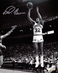 """Downtown"" Fred Brown Autographed 8x10 Photo Seattle Sonics MCS Holo Stock #106817"