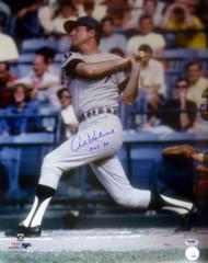 """Al Kaline Autographed 16x20 Photo Detroit Tigers """"HOF 80"""" PSA/DNA Stock #106940"""