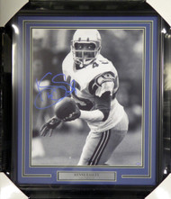 Kenny Easley Autographed Framed 16x20 Photo Seattle Seahawks MCS Holo Stock #107948