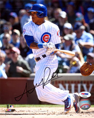 Addison Russell Autographed 8x10 Photo Chicago Cubs PSA/DNA Stock #111170