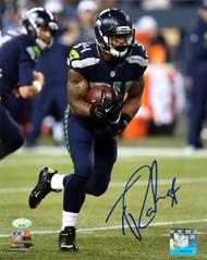 Thomas Rawls Autographed 8x10 Photo Seattle Seahawks MCS Holo Stock #113464