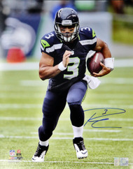 Russell Wilson Autographed 16x20 Photo Seattle Seahawks RW Holo Stock #113664