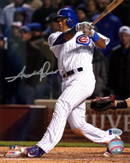 Addison Russell Autographed 8x10 Photo Chicago Cubs Beckett BAS Stock #115003