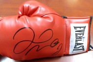Floyd Mayweather Jr. Autographed Red Everlast Boxing Glove LH Beckett BAS Stock #121799