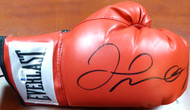 Floyd Mayweather Jr. Autographed Red Everlast Boxing Glove RH Beckett BAS Stock #121800