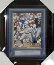 Cortez Kennedy Autographed Framed 8x10 Photo Seattle Seahawks MCS Holo Stock #123669