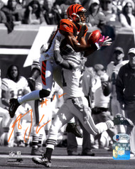 A.J. AJ Green Autographed 8x10 Photo Cincinnati Bengals Beckett BAS Stock #123961