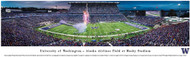 University Of Washington Huskies Unsigned 13.5x40 Panoramic Photo Stock #124038