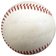"Ted Williams Autographed Official AL Cronin Baseball Boston Red Sox ""Best Wishes"" Vintage Signed In 1964 Beckett BAS #A89085"